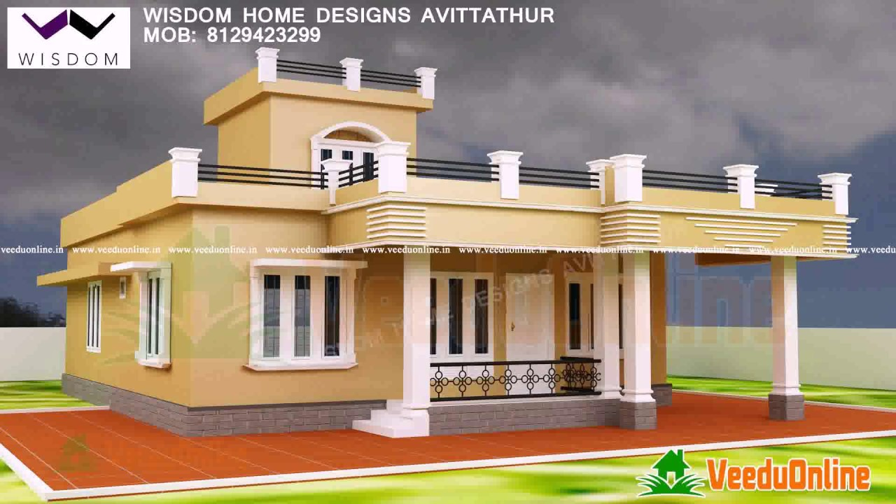 Kerala House Plans 1300 Sq Ft