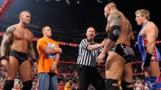Raw: John Cena & Randy Orton vs. Batista & Jack Swagger