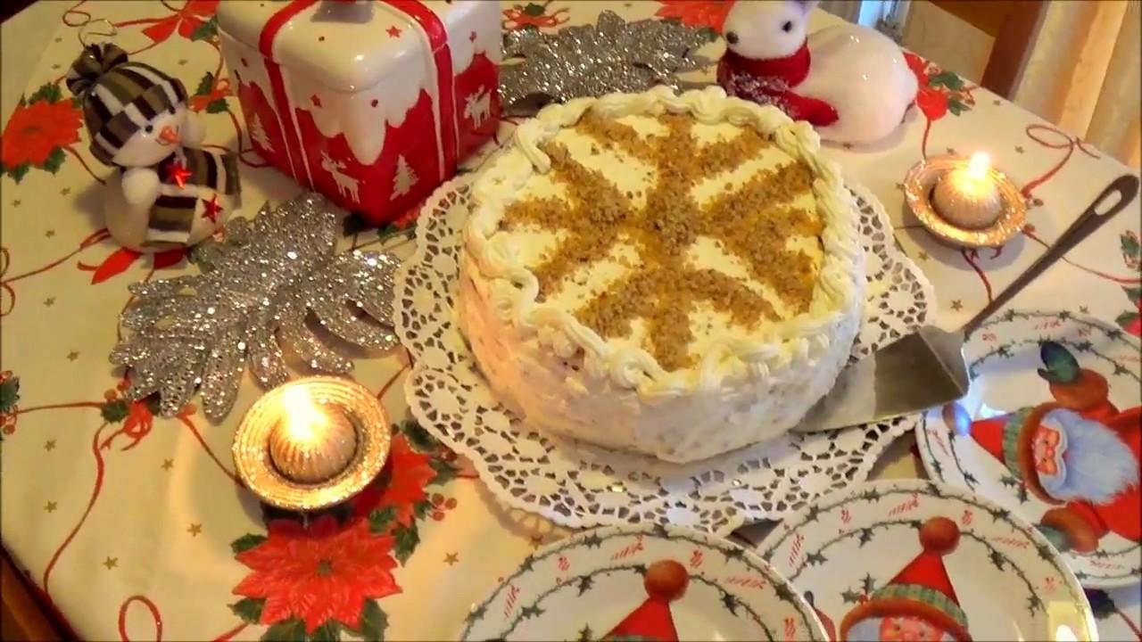 видео рецепт торт снежинка