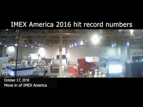 Time-lapse of IMEX America 2016