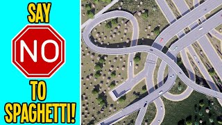 How to Solve R๐ad Spaghetti Traffic in Cities Skylines!