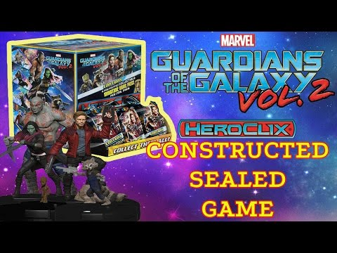 Heroclix Guardians of the Galaxy vol 2 Pack Battle