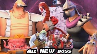 Teenage Mutant Ninja Turtles: Legends - All Boss Fight (NEW BOSS)