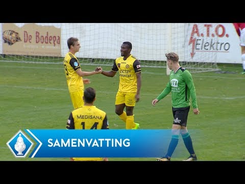 Highlights KNVB Beker: Capelle - Roda JC (20/9/2017)