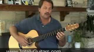 How to play Romanza acoustic guitar lesson