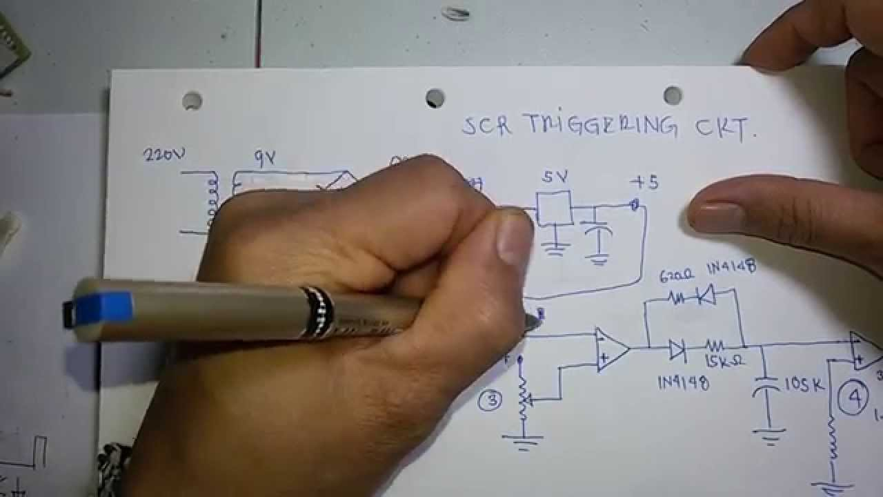 Scr Thyristor Wiring Diagram Electrical Diagrams How To Make Firing Circuit Using Lm324 Op Amp 2 Of 5