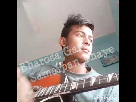 JIMMY RAI BHAROSA GARI SAMARPAN BHAYE.. SONG SINGING BY Avinay Pradhan