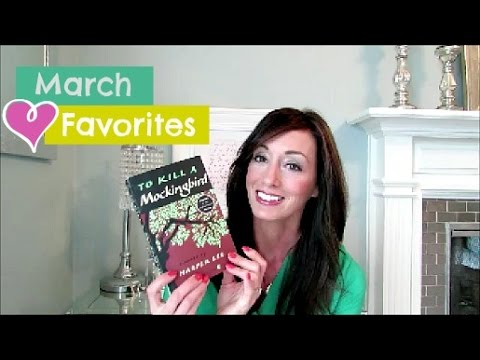 March Favorites 2016 | Beauty, Hair, Books, Food and More