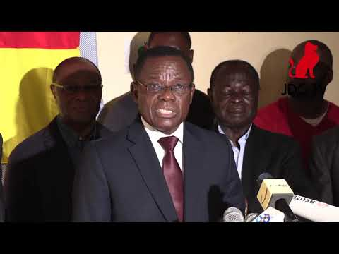 Maurice Kamto claims victory at 2018 presidential election