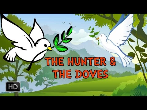 Jataka Tales - The Hunter & The Doves - Moral Stories for Children