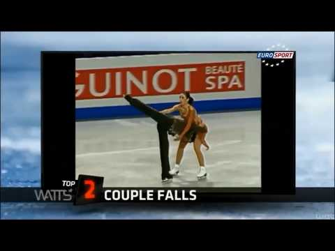 TOP 10 | Worst of Figure Skating Couple Falls