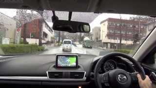 Mazda Axela 2013 New model Test Drive