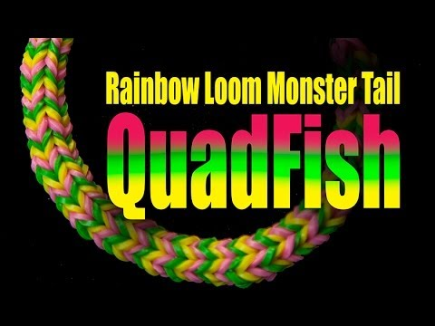 how to make a moshi monster out of loom bands