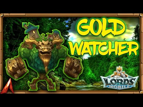 Lords Mobile - Gold Watcher FINALLY!