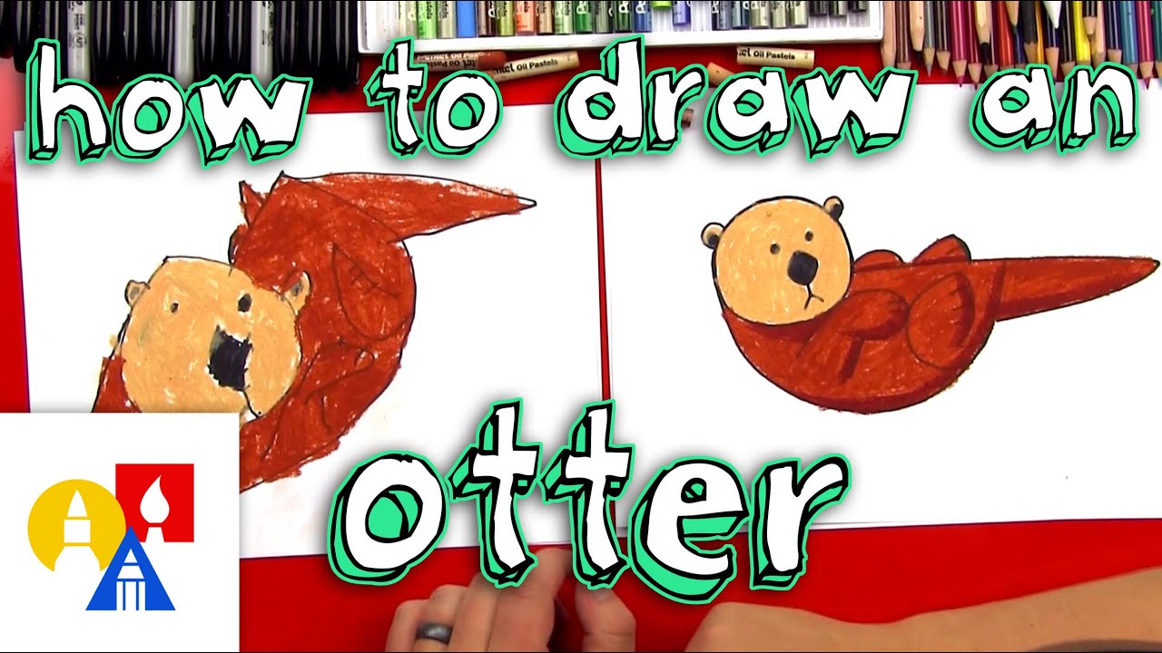 Uncategorized How To Draw Videos For Kids how to draw an otter with shapes for young artists youtube