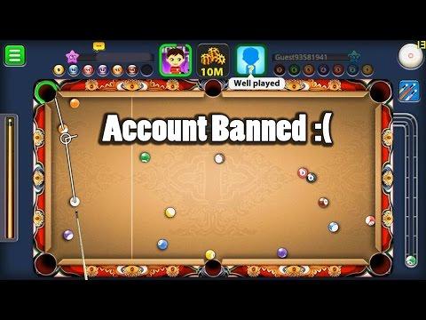 8 Ball Pool- Account Banned For Freakin' Bullshit Reason :(
