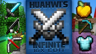 Huahwi InFinite 16x Edit (Minecraft PvP Resource or Texture Packs)