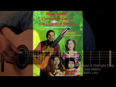 Christmas Medley - arr. Jose Valdez - Solo Classical Guitar