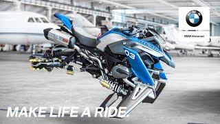 ÜBER die GRENZEN hinaus - Die BMW Motorrad LEGO Fahrrad