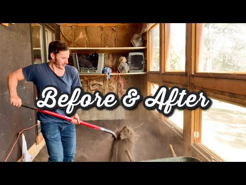 Extreme Makeover - Passive Solar Room  | MATT AND BLUE