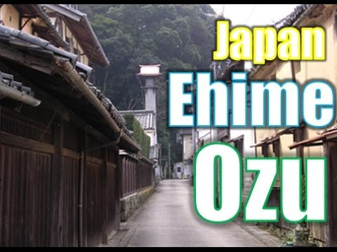 Japan Travel:Nature and Beautiful old-fashioned town. Ozu, Ehime, Japan 22 Moopon