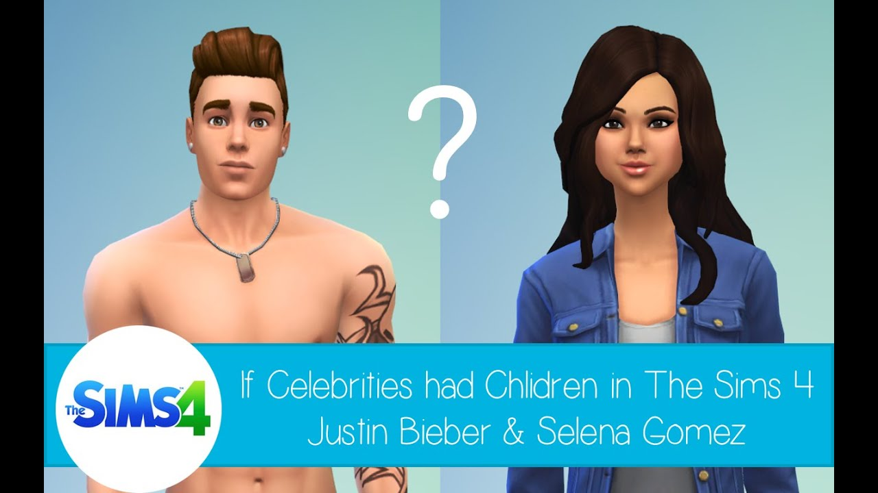 If Celebrities Had Children in The Sims 4: Justin Bieber ...