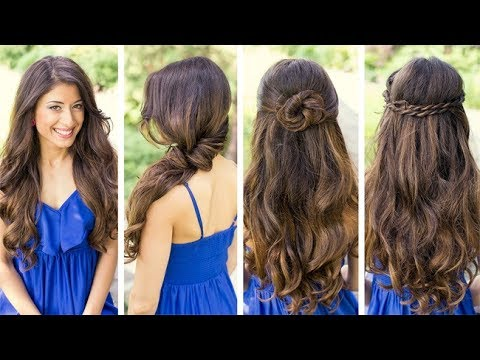 Beautiful Styles Of Different Types Of Hairstyles For Eid 2017 Youtube