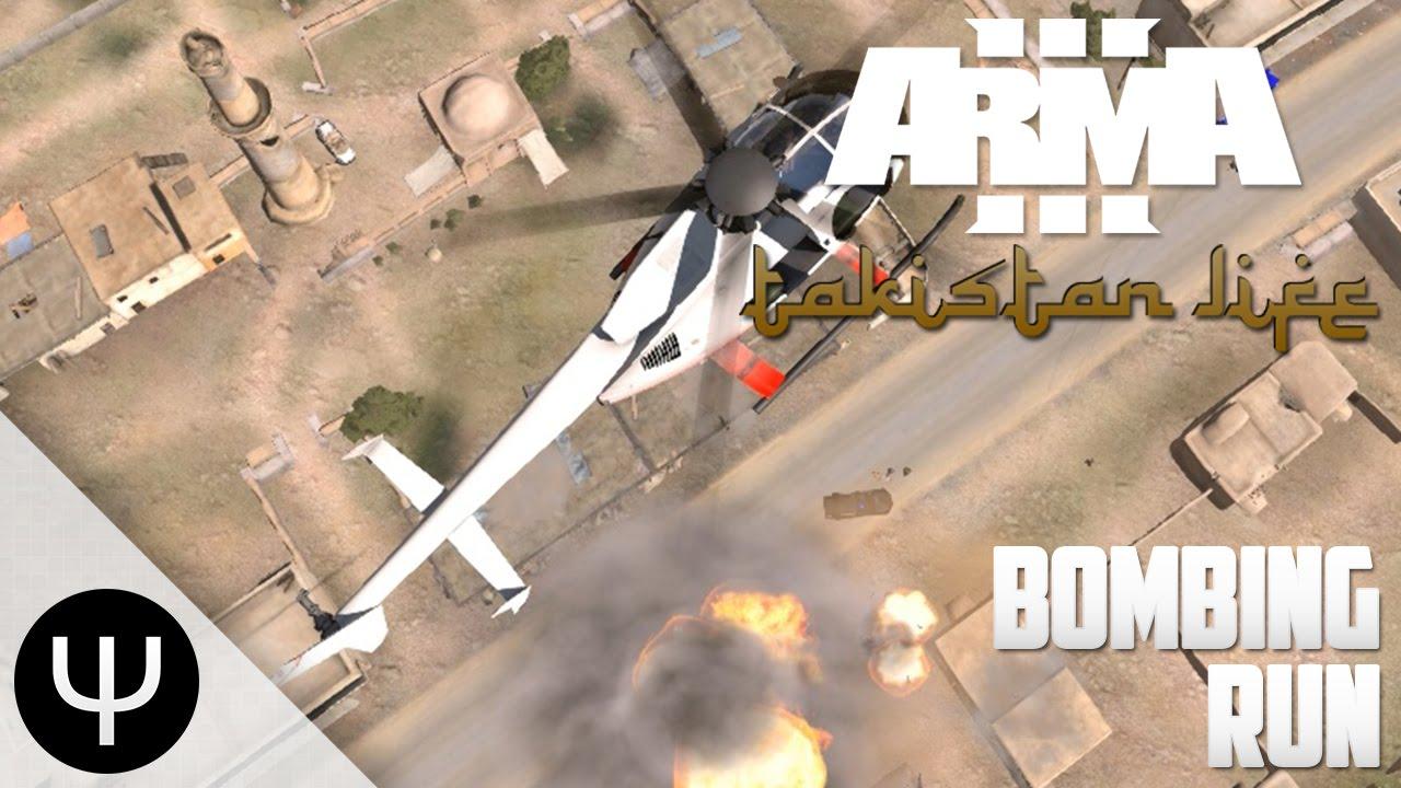ARMA 3: Takistan Life Mod — Bombing Run! - YouTube