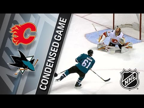 Calgary Flames vs San Jose Sharks – Mar. 24, 2018 | Game Highlights | NHL 2017/18. Обзор