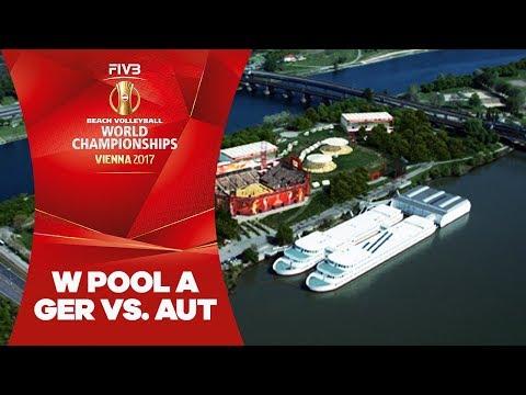 Bieneck/Schneider (GER) v Strauss/Holzer (AUT) - FIVB Beach World Champs