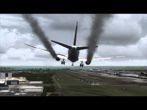 Boeing 767 Engine Fire Singapore Emergency Landing