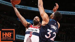 Minnesota Timberwolves vs Washington Wizards Full Game Highlights / March 13 / 2017-18 NBA Season