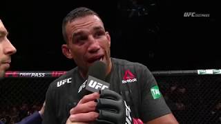 Fight Night Sydney: Fabricio Werdum Octagon Interview