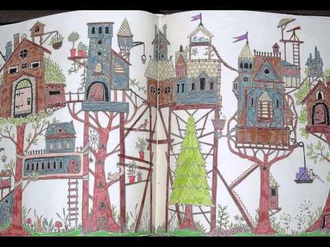 I Colour In Enchanted Forest An Inky Quest Colouring Book