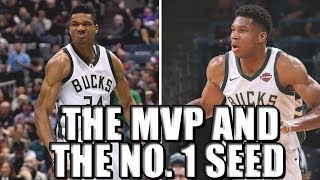 Can Giannis Antetokounmpo win the MVP for the Milwaukee Bucks?