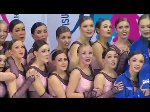 2013 World Synchronized Skating FS 1 Team Finland 1