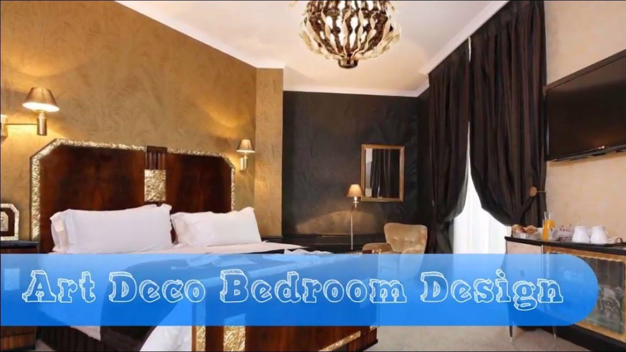 20 Art Deco Bedroom Design