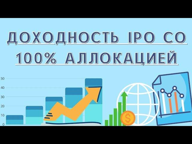 Доходность IPO со 100% аллокацией | Инвестиции в IPO | Высокодоходные инвестиции