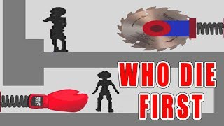 who die first - stupid stickman