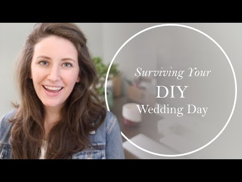Planning (and Surviving!) Your DIY Wedding | Wedding Tips