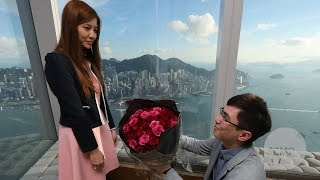Hong Kong man spends HK$400,000 on helicopter wedding proposal and more(Hongkonger Victor Tang asked his girlfriend of just more than a year to marry him in an elaborate wedding proposal which included a helicopter flying over ..., 2015-08-30T08:00:00.000Z)