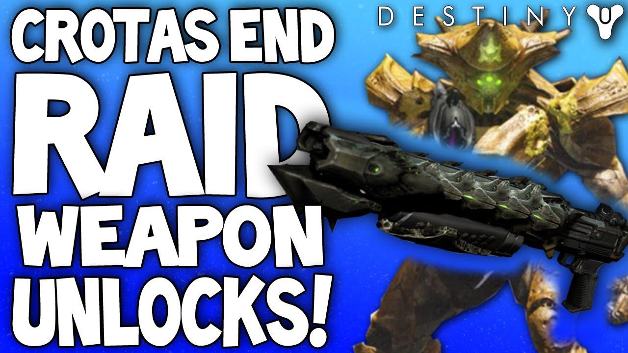 Destiny Dance Gif: Destiny: Crota's End Raid Weapon Unlocks / Rewards
