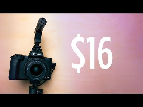 $16 Camera Microphone For Video - Good Enough Or Garbage?