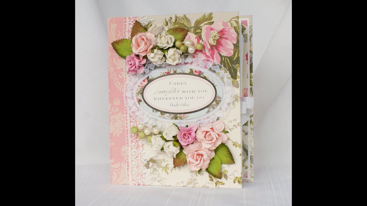 Anna Griffin Camilla Scrapbook Mini Photo Album YouTube