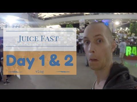 Juice Fasting Day 1 & 2 + Bye Perth/Hello Bali