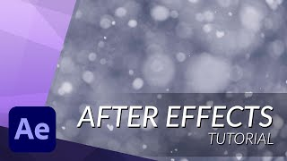 How to Create Realistic Snow in After Effects - TUTORIAL