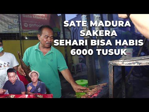 Sate Madura Krakatau Legend: Sehari Bisa Habis 6000 Tusuk Bah!