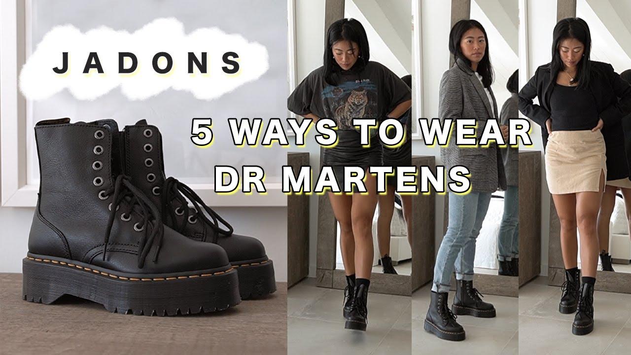 5 Ways to Style Doc Martens Jadon Boots