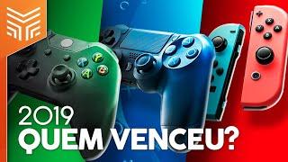 QUAL FOI O MELHOR VIDEOGAME DE 2019: PS4, XBOX ONE OU SWITCH?