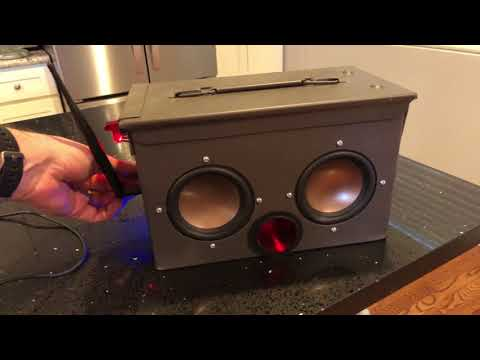 Wireless Ammo Can Speaker